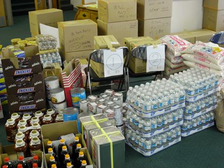 東日本大震災 被災地物資支援プロジェクト